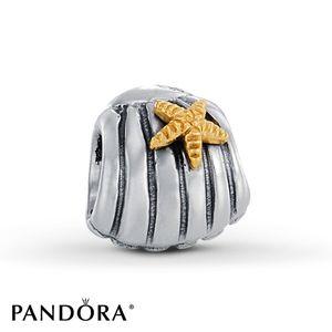 Pandora Charm Sea Shell Sterling Silver